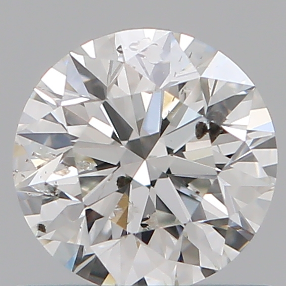 0.66 ct Round Diamond : H / I1