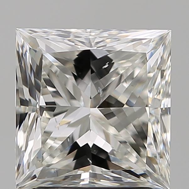 2.50 ct Princess Cut Diamond : H / SI1