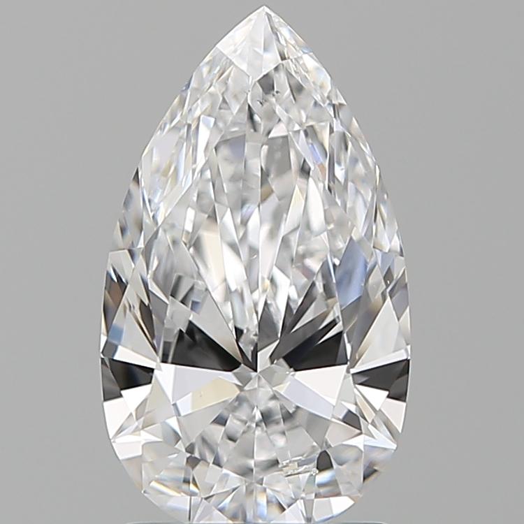 1.51 ct Pear Shape Diamond : D / SI1