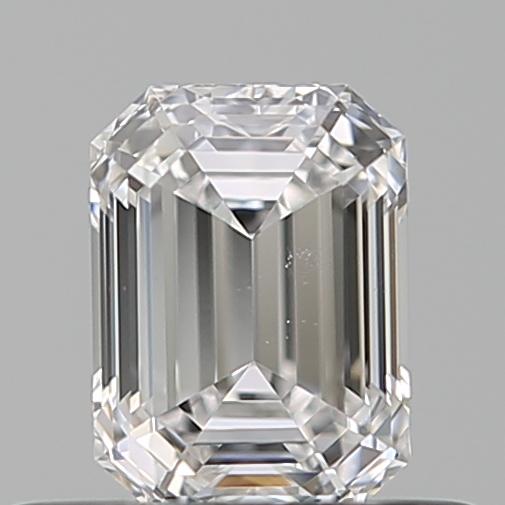 0.40 ct Emerald Cut Diamond : D / VVS2