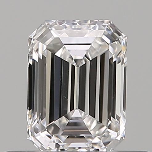 0.40 ct Emerald Cut Diamond : D / VS2