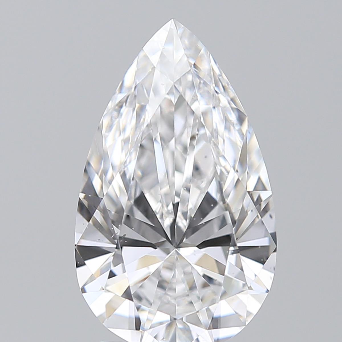 2.01 ct Pear Shape Diamond : D / VS2