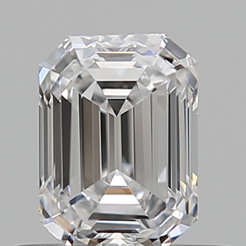 0.50 ct Emerald Cut Diamond : D / VVS2