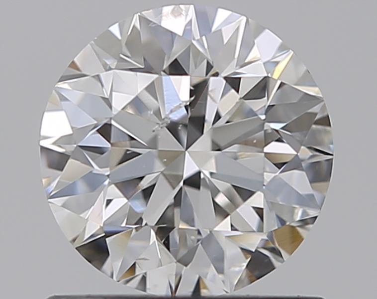 0.70 ct Round Diamond : F / SI2
