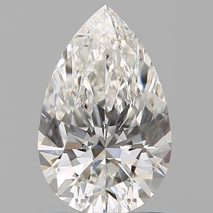 1.00 ct Pear Shape Diamond : G / VVS2