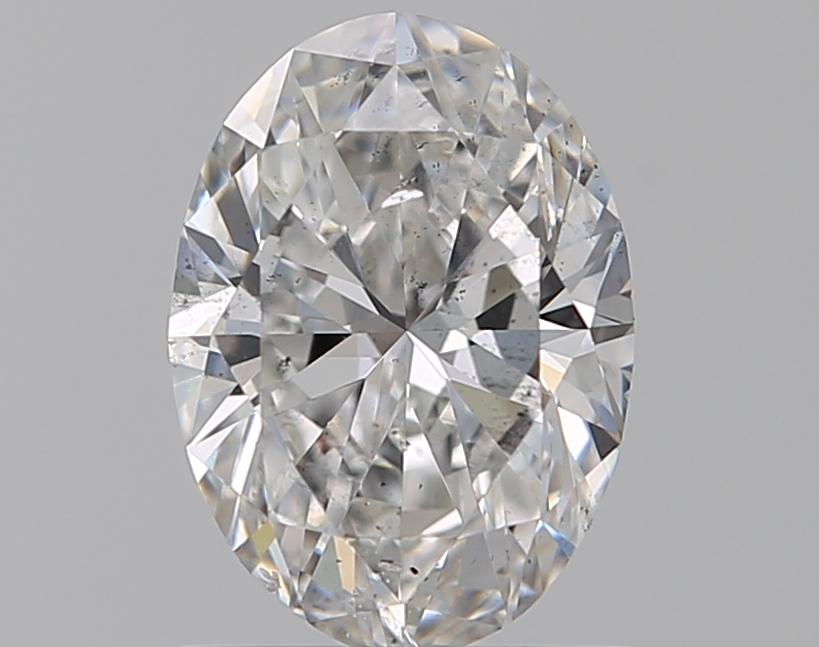 0.90 ct Oval Diamond : F / SI1