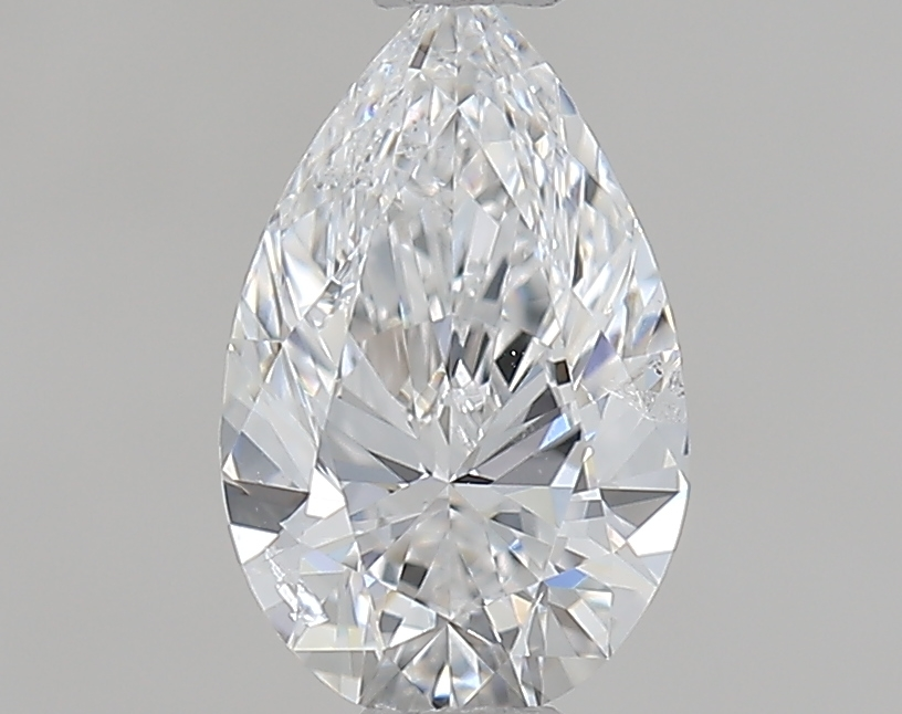 0.70 ct Pear Shape Diamond : D / SI2