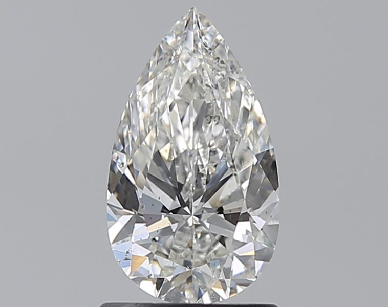 1.00 ct Pear Shape Diamond : H / SI2