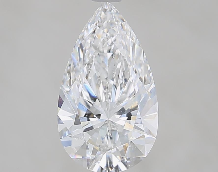 2.01 ct Pear Shape Diamond : E / SI1