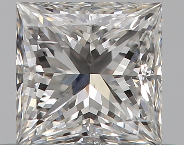 0.38 ct Princess Cut Diamond : D / VS2