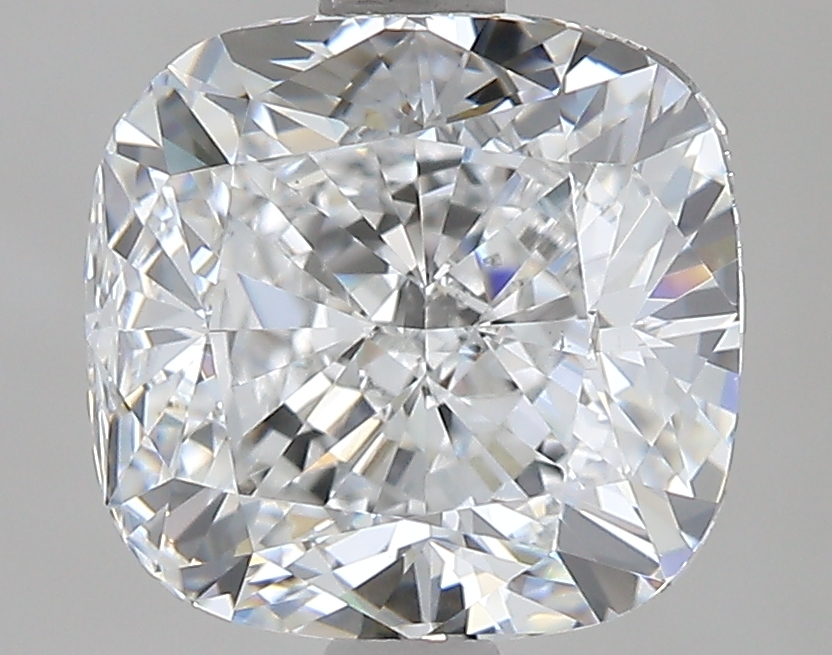 2.50 ct Cushion Cut Diamond : E / VS2