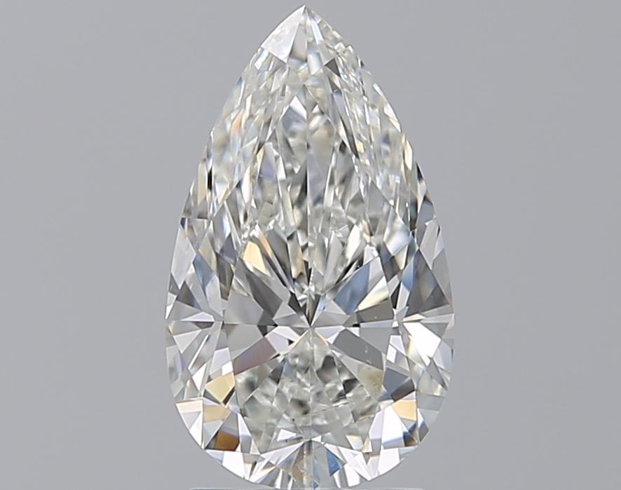 2.01 ct Pear Shape Diamond : H / SI1