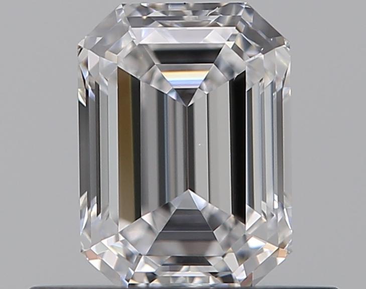 0.46 ct Emerald Cut Diamond : D / VVS2