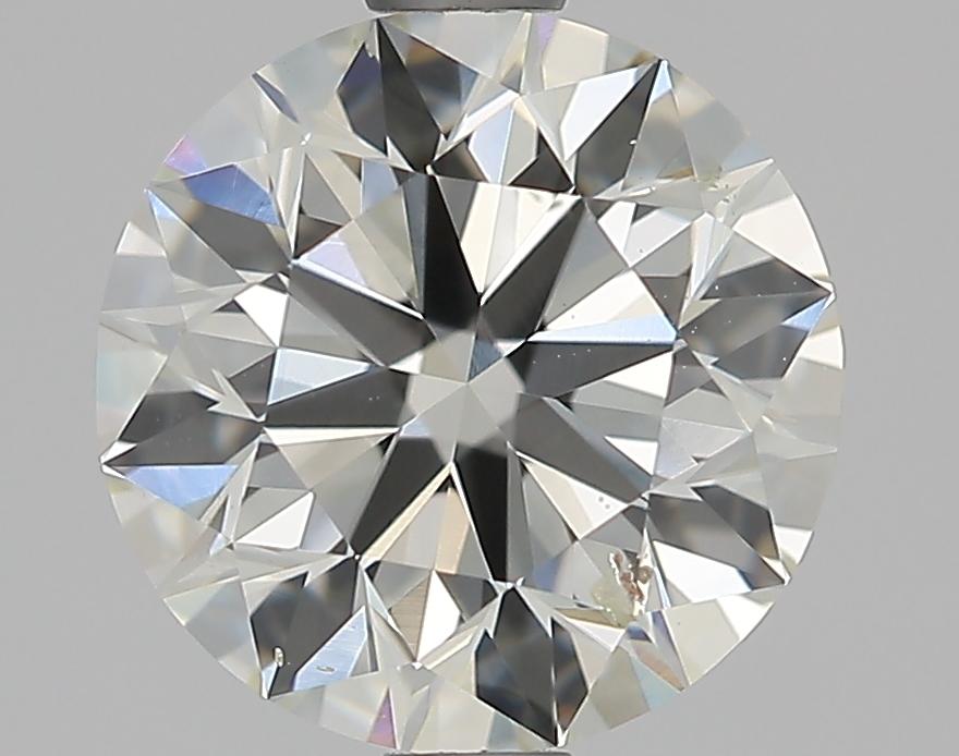 1.51 ct Round Diamond : J / SI2