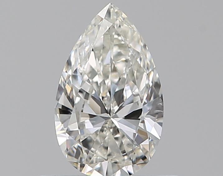0.41 ct Pear Shape Diamond : H / SI1