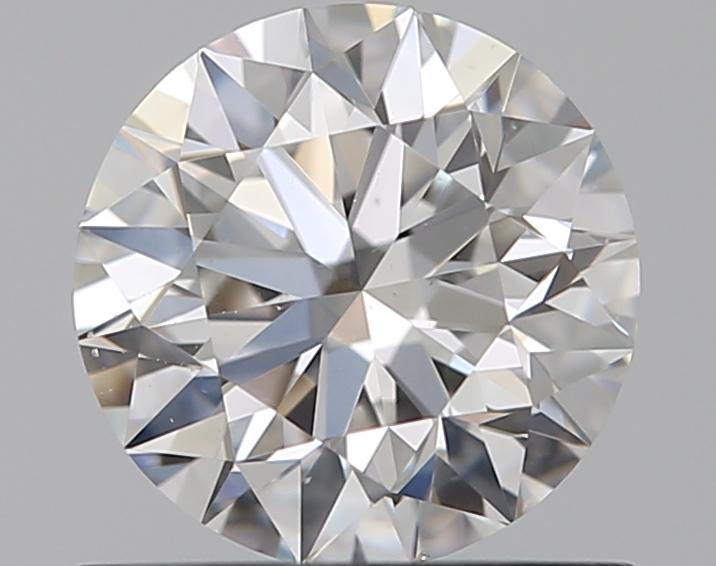 0.59 ct Round Diamond : F / SI1