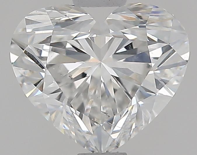 0.91 ct Heart Shape Diamond : F / SI1