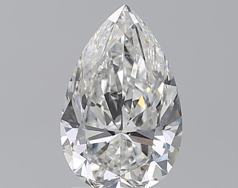 1.72 ct Pear Shape Diamond : G / SI1