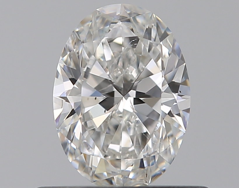 0.50 ct Oval Diamond : F / SI1