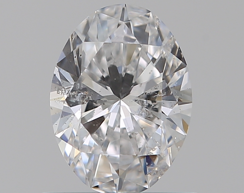 0.59 ct Oval Diamond : D / SI2