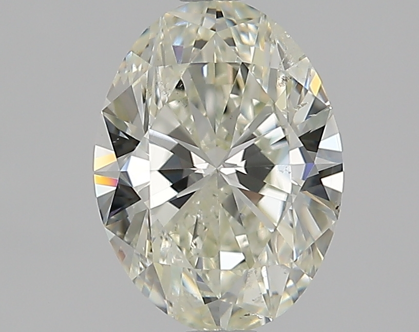 1.51 ct Oval Diamond : L / SI2