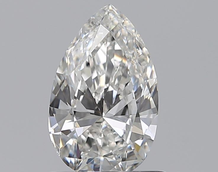0.70 ct Pear Shape Diamond : F / SI1