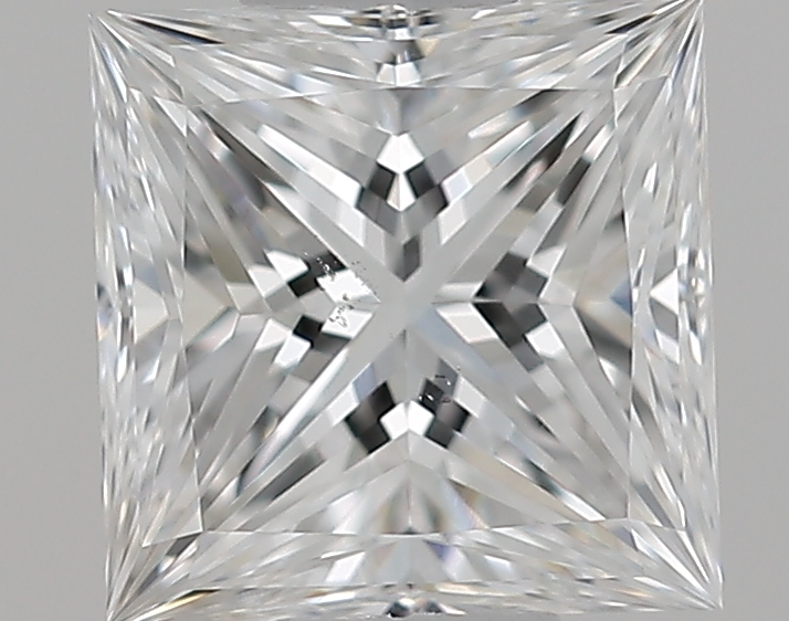 0.51 ct Princess Cut Diamond : E / SI1