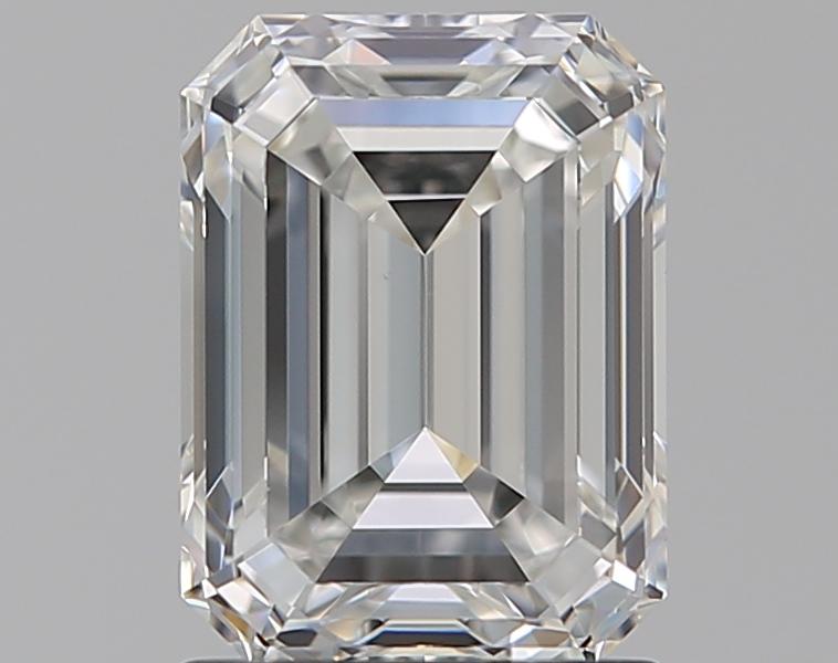 1.51 ct Emerald Cut Diamond : G / VVS2