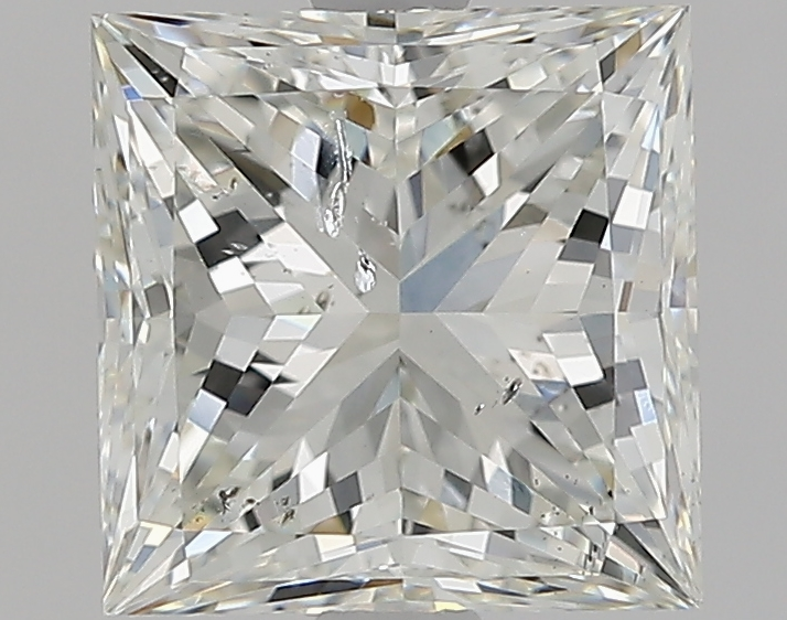 2.50 ct Princess Cut Diamond : J / SI2