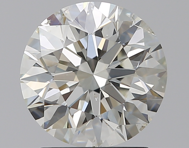 1.50 ct Round Diamond : J / SI2