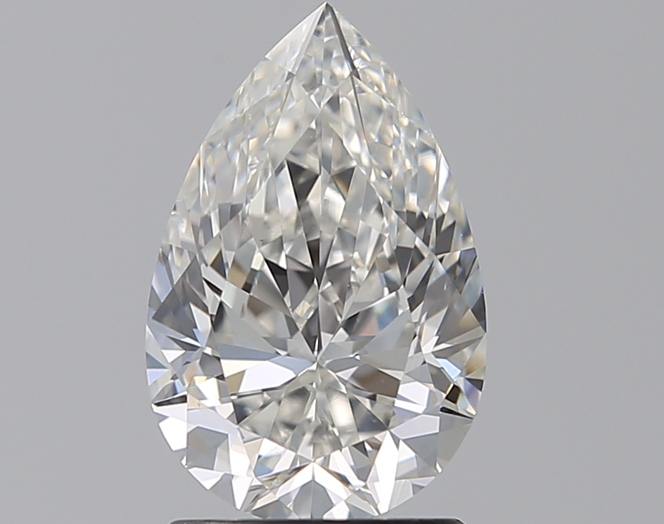 1.51 ct Pear Shape Diamond : G / VS2