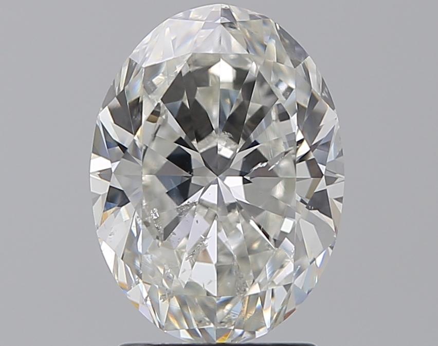 2.00 ct Oval Diamond : H / SI2