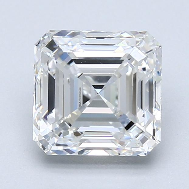2.01 ct Asscher Cut Diamond : G / VS1