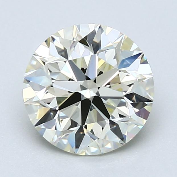 1.70 ct Round Diamond : M / VVS2