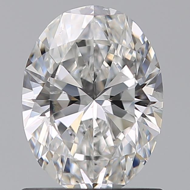 0.91 ct Oval Diamond : E / VS2