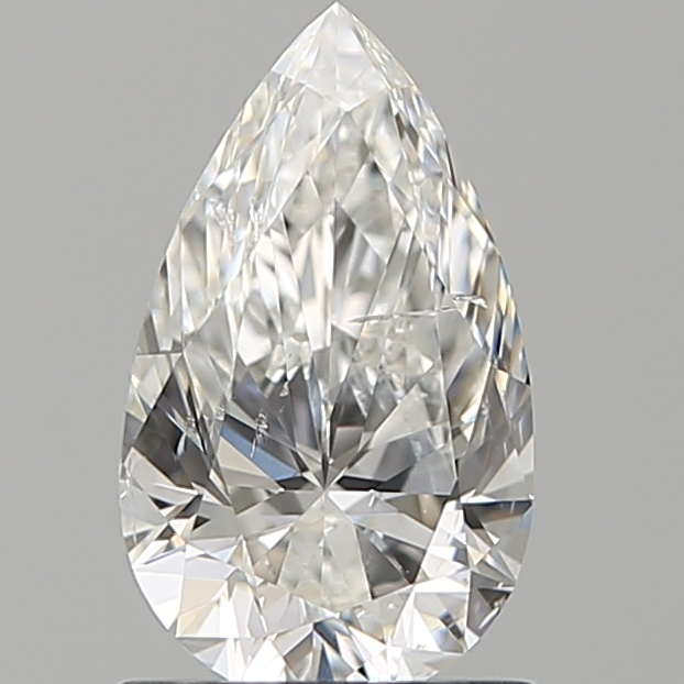 1.00 ct Pear Shape Diamond : F / SI2