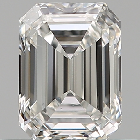 0.51 ct Emerald Cut Diamond : F / VS2