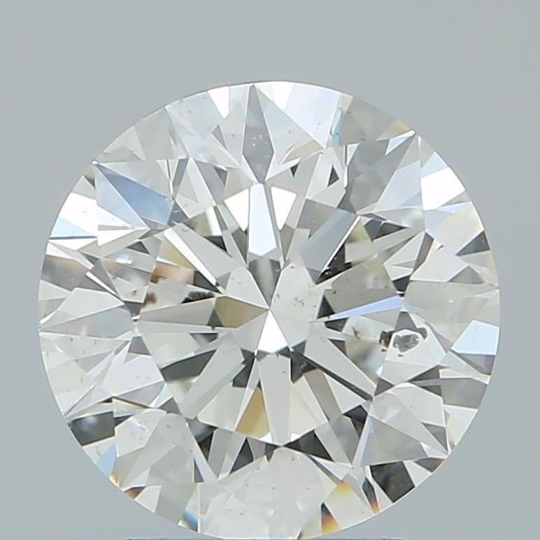 2.62 ct Round Diamond : I / SI2