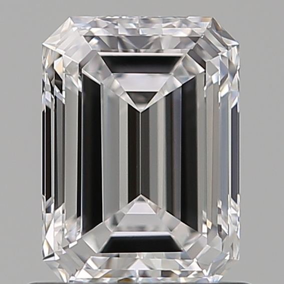 0.89 ct Emerald Cut Diamond : D / VVS2