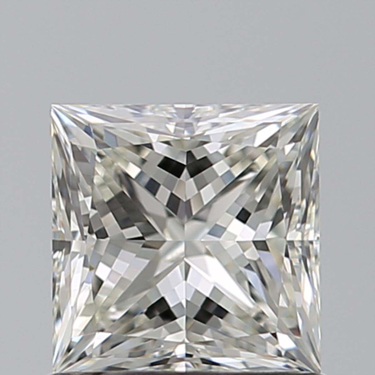 0.91 ct Princess Cut Diamond : J / VS1