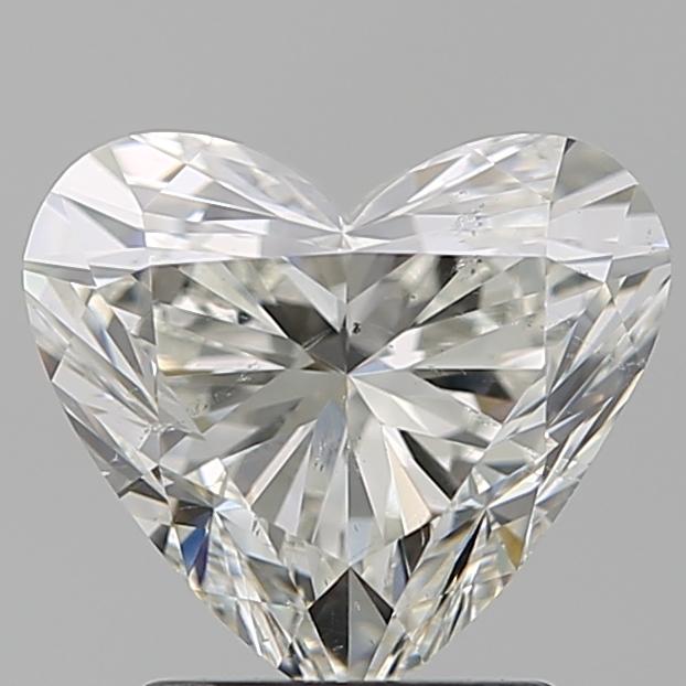 1.90 ct Heart Shape Diamond : H / SI1