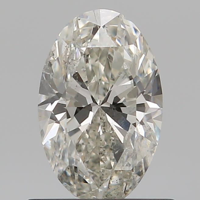 0.59 ct Oval Diamond : J / I1