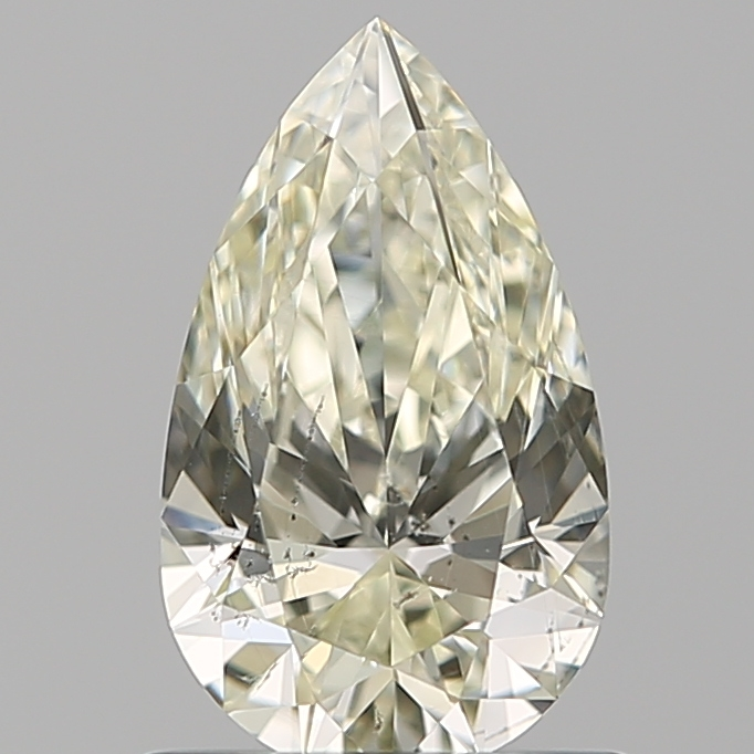 0.73 ct Pear Shape Diamond : L / SI1