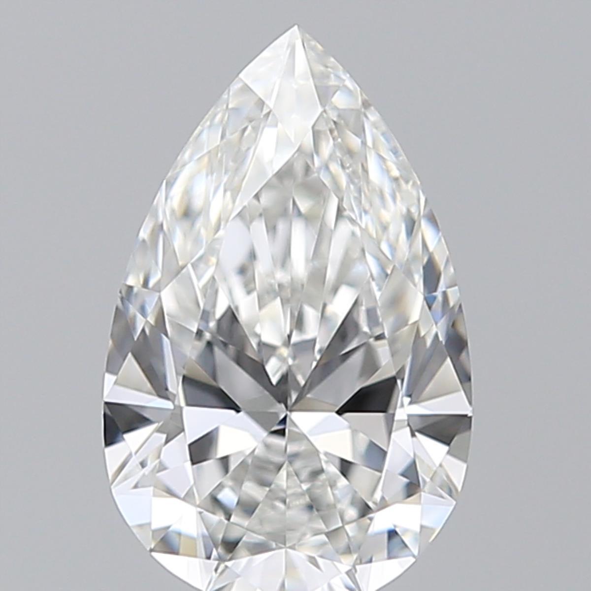 1.01 ct Pear Shape Diamond : F / VVS1