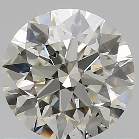 0.60 ct Round Diamond : K / SI2