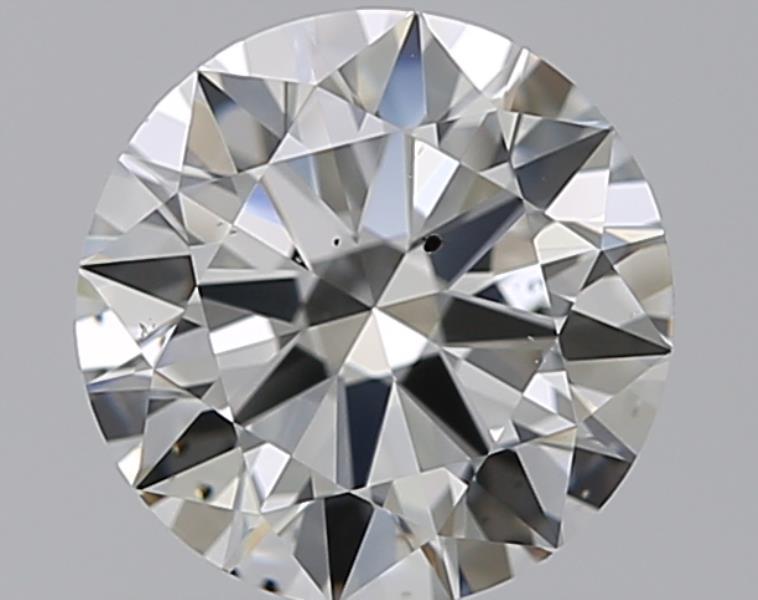 0.91 ct Round Diamond : J / SI1