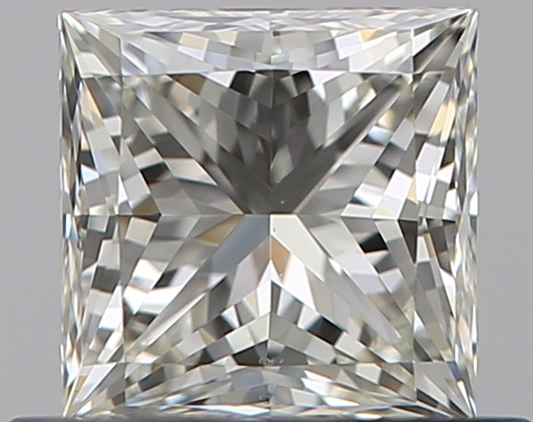 0.51 ct Princess Cut Diamond : J / VS1