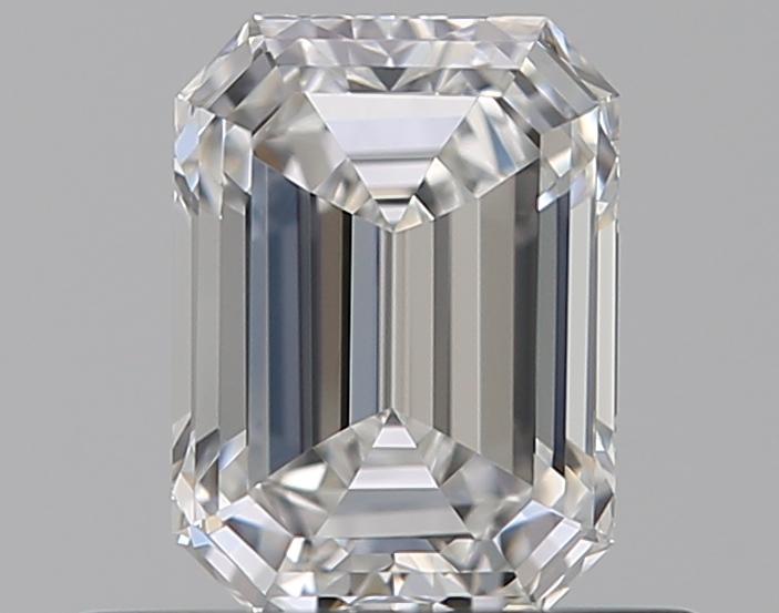 0.47 ct Emerald Cut Diamond : F / VVS1