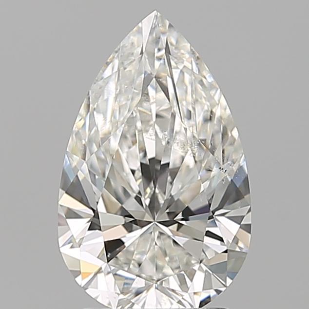 2.01 ct Pear Shape Diamond : G / SI2