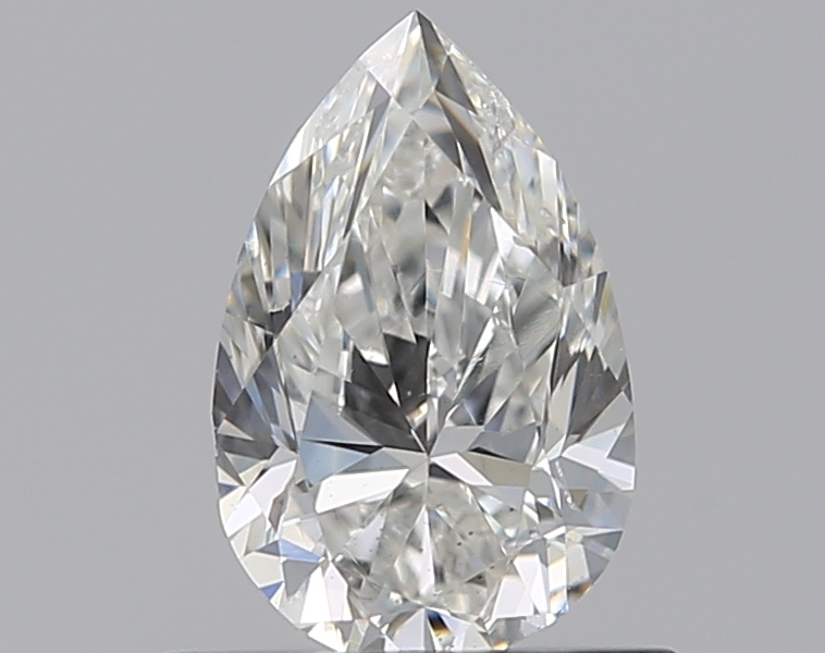 0.50 ct Pear Shape Diamond : G / SI2